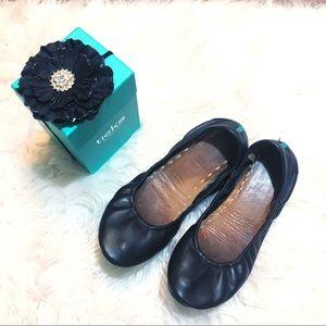 Tieks Ballet Flat Black Size 9